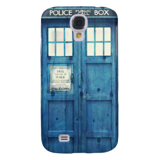 Vintage Police phone Public Call Box Galaxy S4 Cover