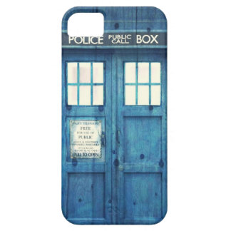 Vintage Police phone Public Call Box iPhone 5 Cover