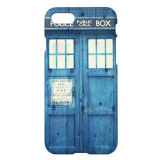 Vintage Police phone Public Call Box iPhone 7 Case