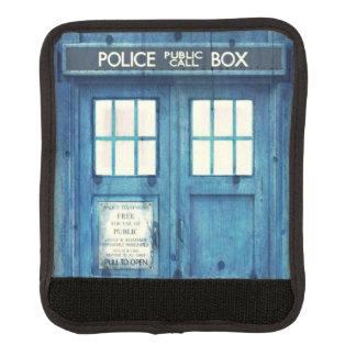 Vintage Police phone Public Call Box Luggage Handle Wrap