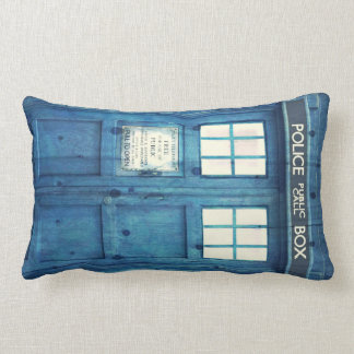 Vintage Police phone Public Call Box Pillow