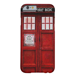 Vintage Police Public Call Box iPhone 6 case (red)