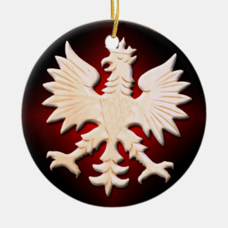 Vintage Polish Eagle Ornament