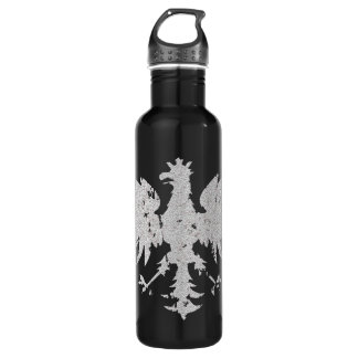 Vintage Polish White Eagle Stainless Steel Water Bottle