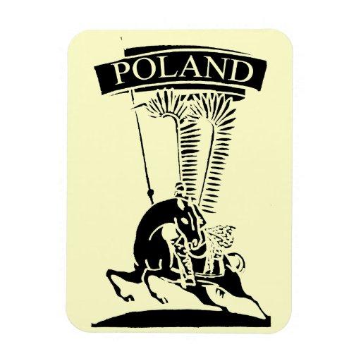 Vintage Polish Winged Hussar Flexible Magnet