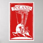Vintage Polish Winged Hussar Poster