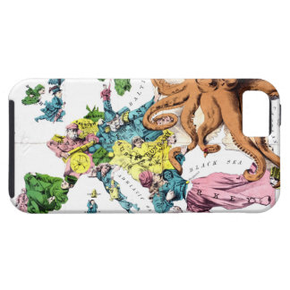 Vintage Political Cartoon Map of Europe (1877) iPhone SE/5/5s Case