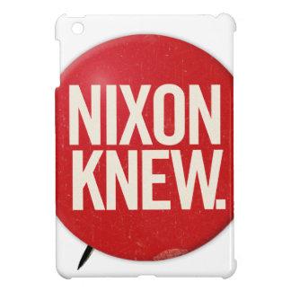 Vintage Political Richard Nixon Button Nixon Knew iPad Mini Cover