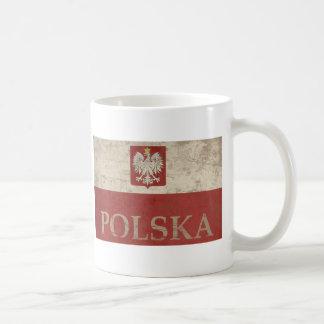 Vintage Polska Classic White Coffee Mug