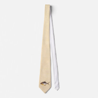 Vintage Pompano Fish - Game Fishes Template Blank Neck Tie
