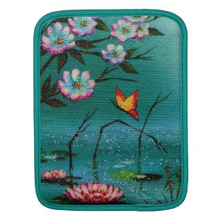 Vintage Pond iPad Sleeves