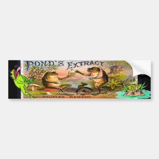 """""""Vintage Ponds Extract ad-Bumper Sticker!"""" Bumper Sticker"""