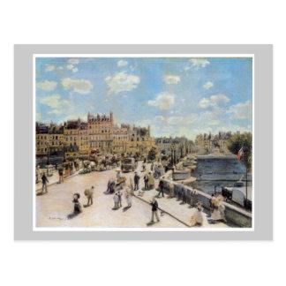 Vintage Pont Neuf Paris France Postcard