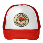 Vintage Pontiac Factory parts sign Trucker Hat
