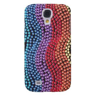 Vintage Pop Bead Pern 3  Samsung Galaxy S4 Case