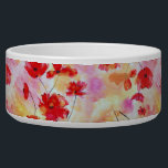 "Vintage Poppies Bowl<br><div class=""desc"">Fun vintage poppy floral pattern</div>"