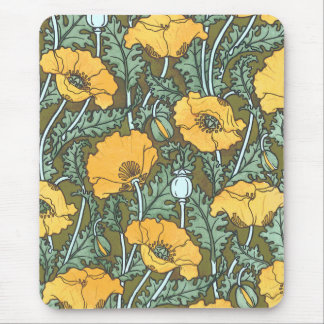 Vintage Poppies ~ Mousepad # 2