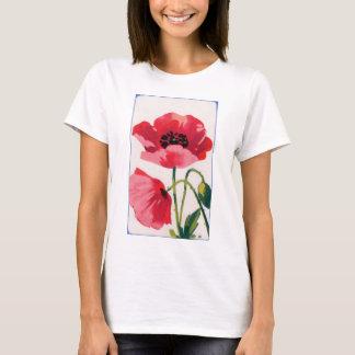 Vintage Poppy Print T-Shirt