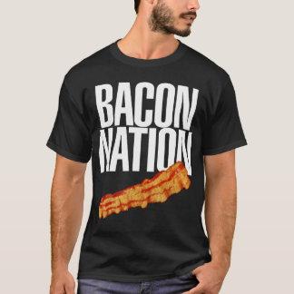 Vintage Pork Bacon Strips Bacon Nation T-Shirt