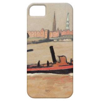 Vintage Port of Hamburg Germany iPhone 5 Case
