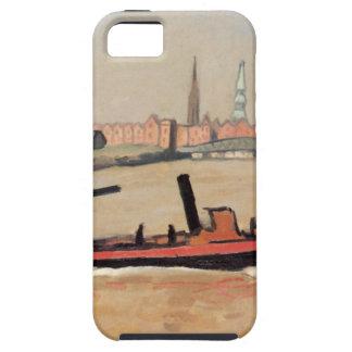 Vintage Port of Hamburg Germany iPhone 5 Cases