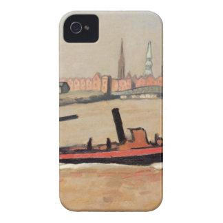 Vintage Port of Hamburg Germany iPhone 4 Cases