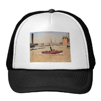 Vintage Port of Hamburg Germany Trucker Hat