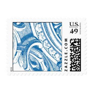 vintage portion stamp