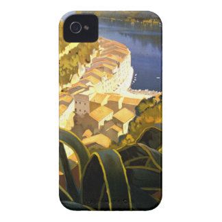 Vintage Portofino Italia iPhone 4 Case-Mate Cárcasa