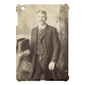 Vintage Portrait Gentleman iPad Mini Cases