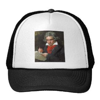 Vintage portrait of composer, Ludwig von Beethoven Trucker Hat