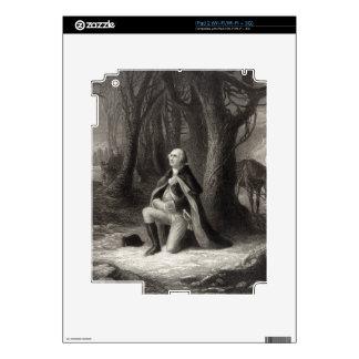 Vintage Portrait of George Washington Praying Skin For iPad 2