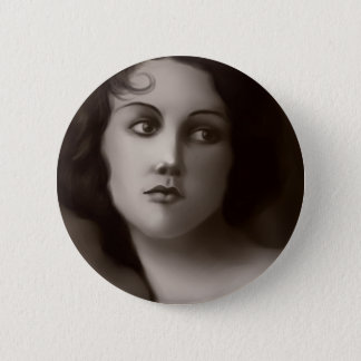 Vintage Portrait Pinback Button