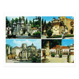 Vintage Portugal,  Coimbra, Multiview Post Card