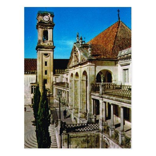 Vintage Portugal,  Coimbra, University Post Cards