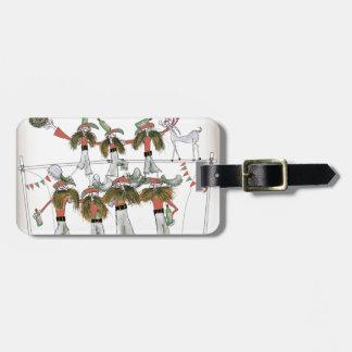 vintage portugal defence bag tag