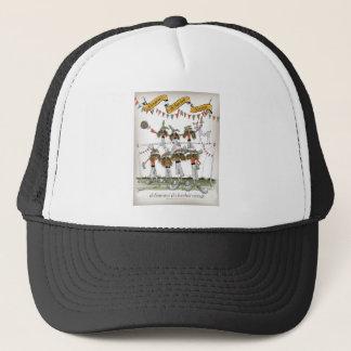 vintage portugal defence trucker hat