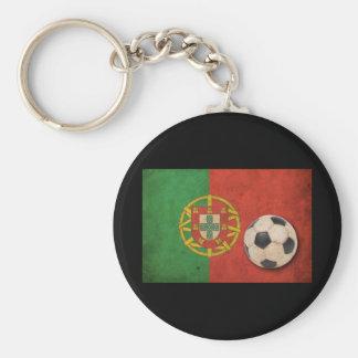 Vintage Portugal Flag Keychain