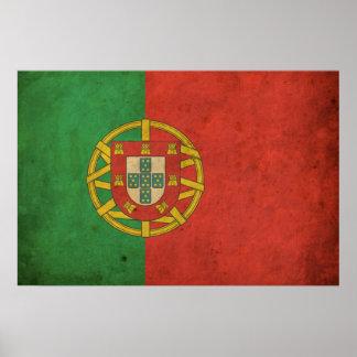 Vintage Portugal Flag Poster