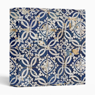 Vintage Portuguese Azulejo Binders