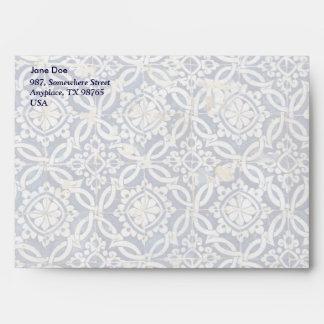 Vintage Portuguese Azulejo Envelope