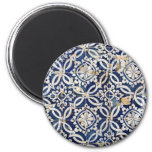 Vintage Portuguese Azulejo Magnets