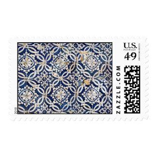 Vintage Portuguese Azulejo Postage