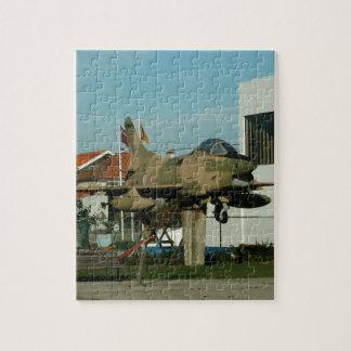 Vintage Portuguese Fighter Jet Jigsaw Puzzle