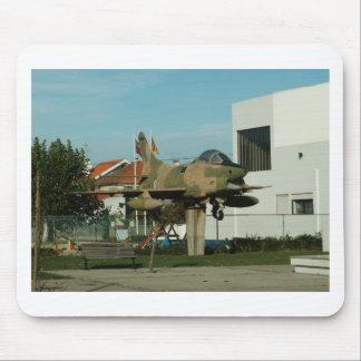 Vintage Portuguese Fighter Jet Mouse Pad