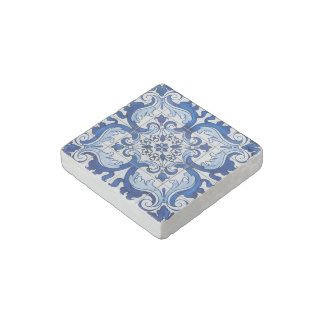 Vintage Portuguese Tile Pattern