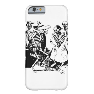 Vintage Posada Mexican Skeleton Dance Barely There iPhone 6 Case