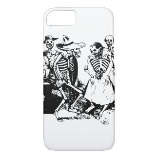 Vintage Posada Mexican Skeleton Dance iPhone 7 Case