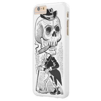 Vintage Posada Skeleton Smoking Cigar Barely There iPhone 6 Plus Case
