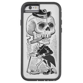 Vintage Posada Skeleton Smoking Cigar Tough Xtreme iPhone 6 Case